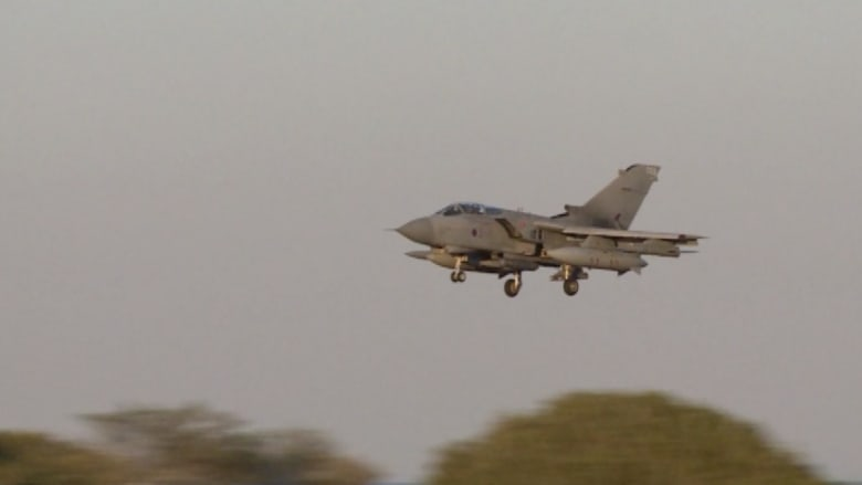 بالفيديو.. هذه هي المقاتلات البريطانية التي قصفت مواقع داعش بالعراق