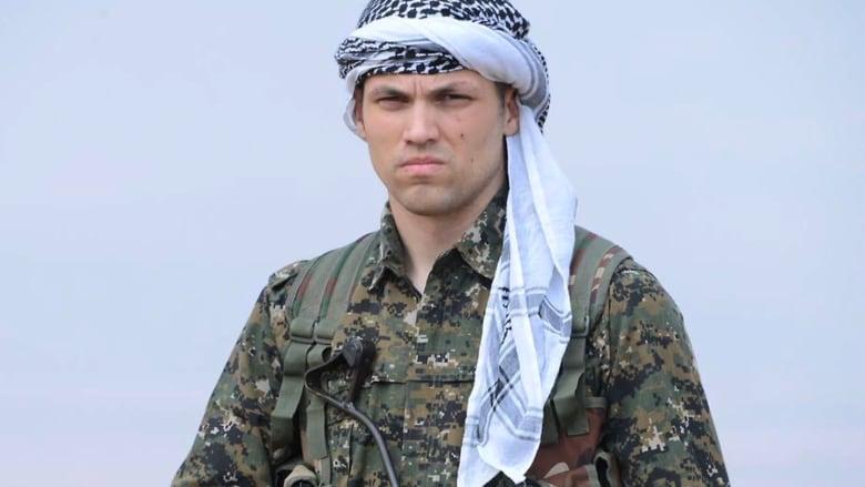 جندي أمريكي سابق ينضم للأكراد في حربهم ضد داعش
