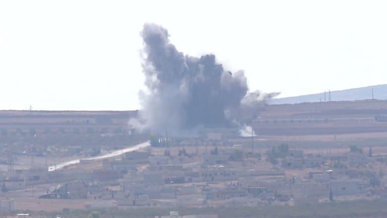 """غارات مكثفة على كوباني.. وسقوطها يروج لانتصار """"داعش"""" على أقوى تحالف"""