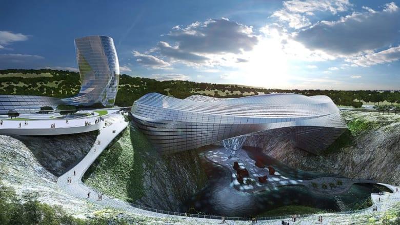 بالصور..أغرب وأجمل مباني الصين
