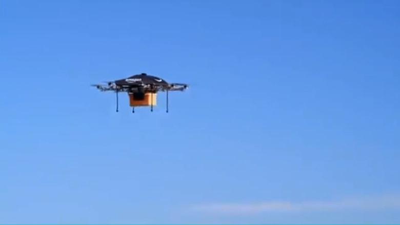 طائرات بدون طيار .. ثورة في أنظمة التسليم لدى أمازون