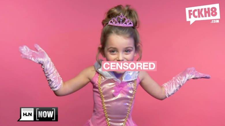 بالفيديو: ضجة حول حملة تستخدم فتيات بألفاظ بذيئة لإيصال رسائلهن