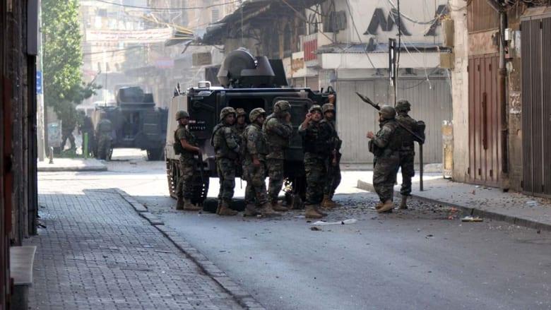"""لبنان: إصابة 9 عسكريين بمواجهات عنيفة مع مسلحين في طرابلس يشتبه بانتمائهم لـ""""داعش"""""""
