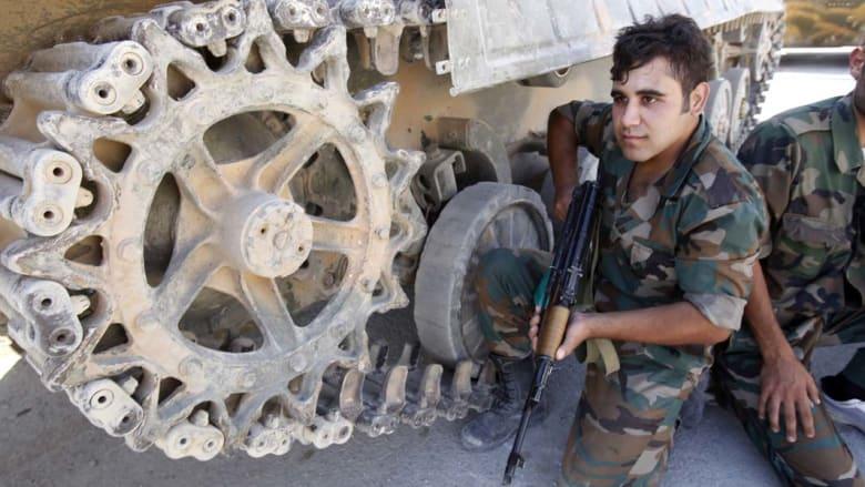 نشطاء: مواجهات عنيفة بين مليشيات متشددة والقوات السورية بادلب