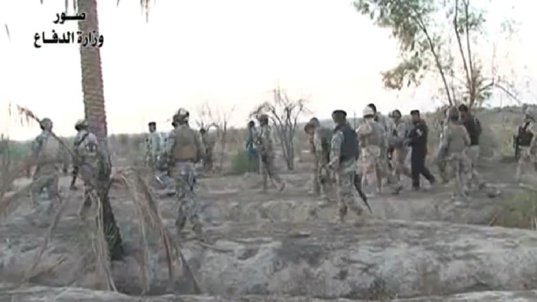 بالفيديو.. الجيش العراقي يقتل عشرات العناصر بداعش في بهرز والعبارة