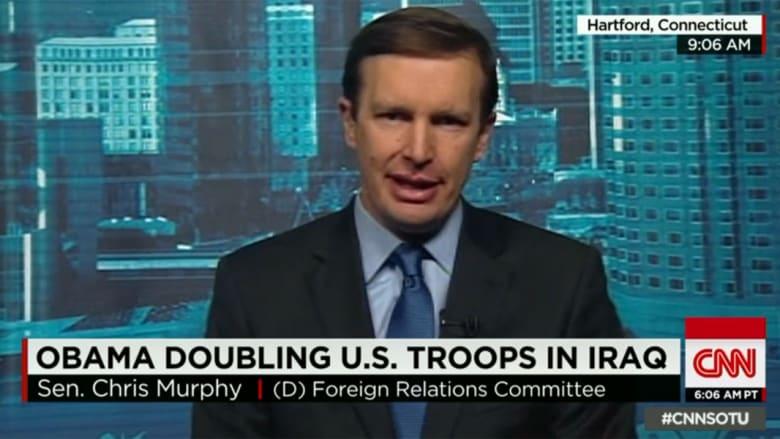 سيناتور أمريكي لـCNN: إرسال 1500 جندي للعراق لن يجدي نفعا.. أرسلنا مئات الآلاف في العقد الماضي فزادت الأمر سوءا
