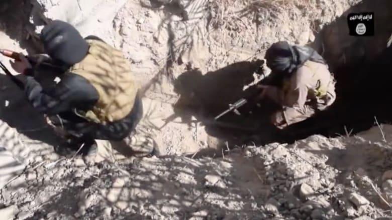 بالفيديو.. كيف يتحصن مقاتلو داعش من ضربات التحالف؟