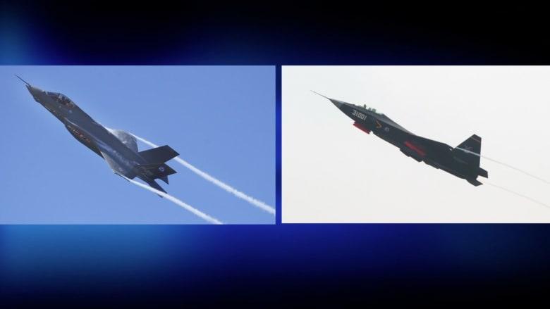 """بعد ضجة سرقة التصاميم.. طائرة """"الشبح"""" الصينية هل هي نسخة من المقاتلة F-35 الأمريكية"""