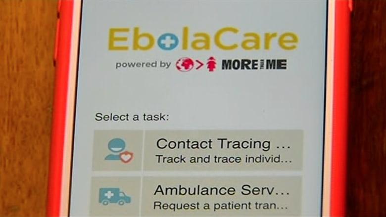 """تطبيق للهواتف الذكية يساعد في تعقب وباء """"إيبولا"""""""