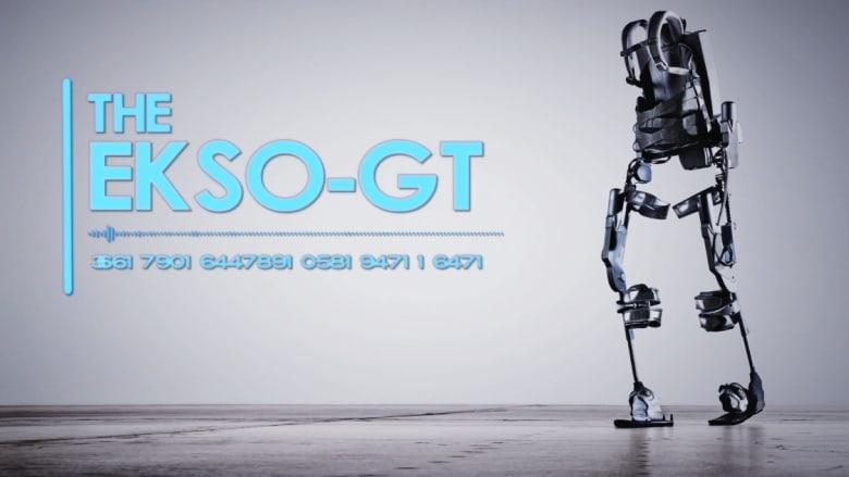 """""""هياكل روبوتية"""" لمساعدة المصابين بالشلل على السير مجددا"""