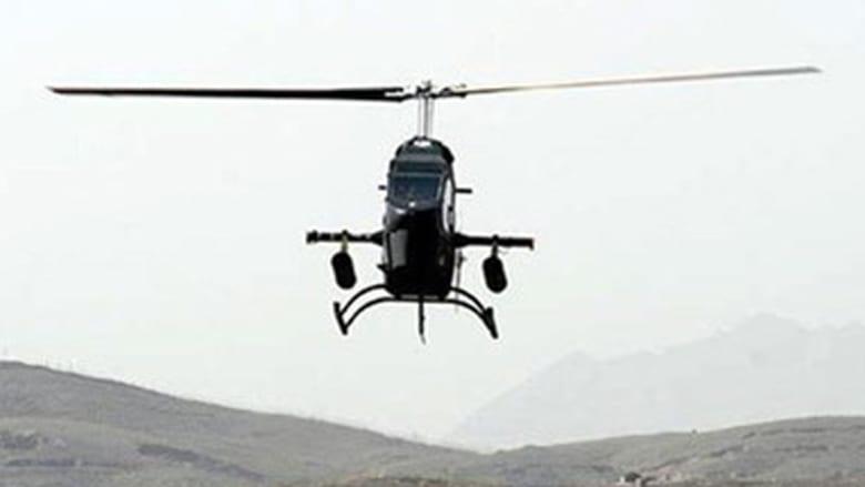الطائرة المروحية سورنا التي كشفت عنها إيران خلال المعرض