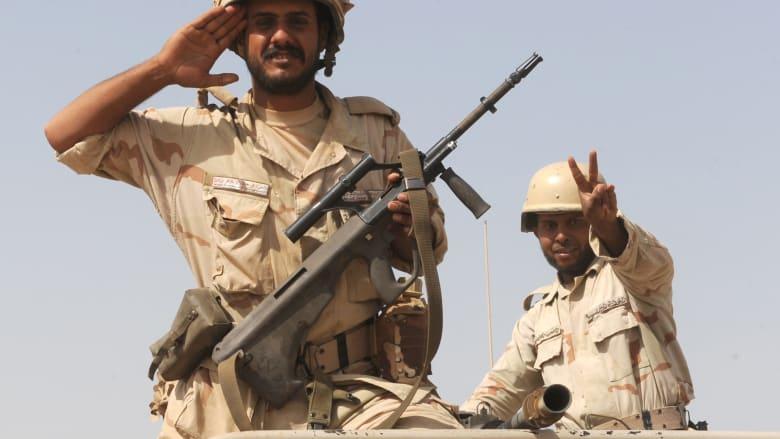 السعودية توسع المنطقة العازلة مع العراق مع تصاعد ضربات التحالف الدولي لداعش