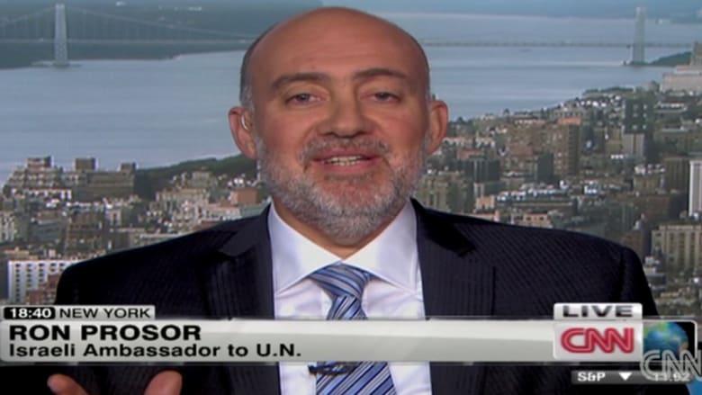 سفير إسرائيل بمجلس الأمن لـCNN: لا تعايش مع حماس وحزب الله وداعش.. وإلا طرق الإرهاب أبواب الجميع