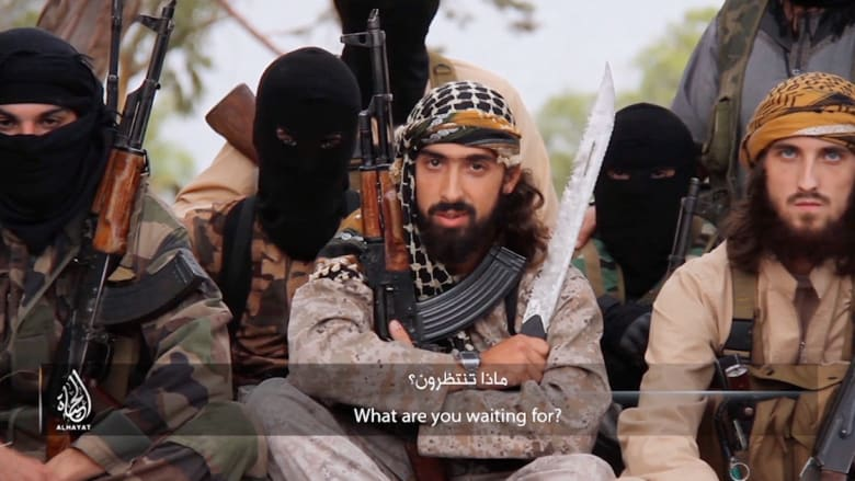 داعش يدعو الشباب الفرنسيين بطريقة مباشرة للانضمام إلى التنظيم