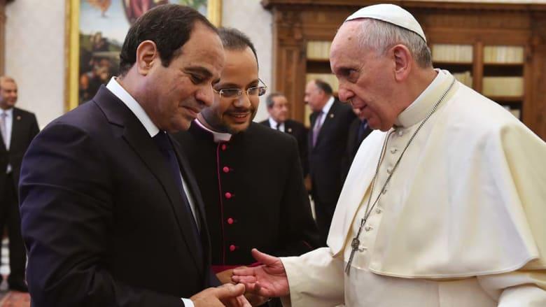 بالصور.. زيارة عبدالفتاح السيسي إلى إيطاليا والفاتيكان