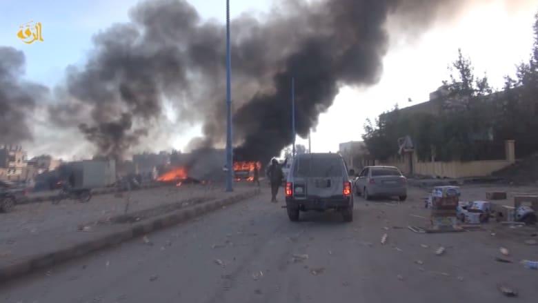 مقتل 95 في غارات للنظام السوري على الرقة