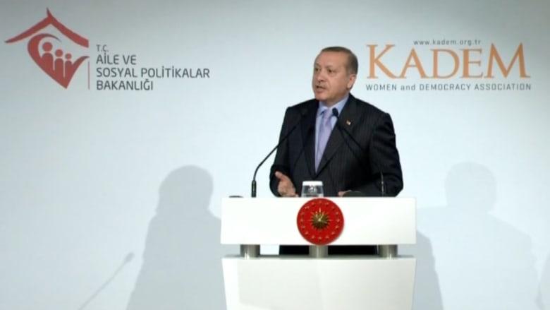 أردوغان يثير الجدل:  كنت أقبل أقدام أمي.. ومساواة الجنسين مخالفة للطبيعة