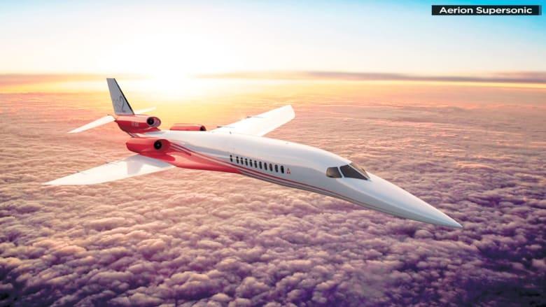 طائرات فائقة السرعة للأثرياء.. تقطع أمريكا بأقل من ساعتين ونصف
