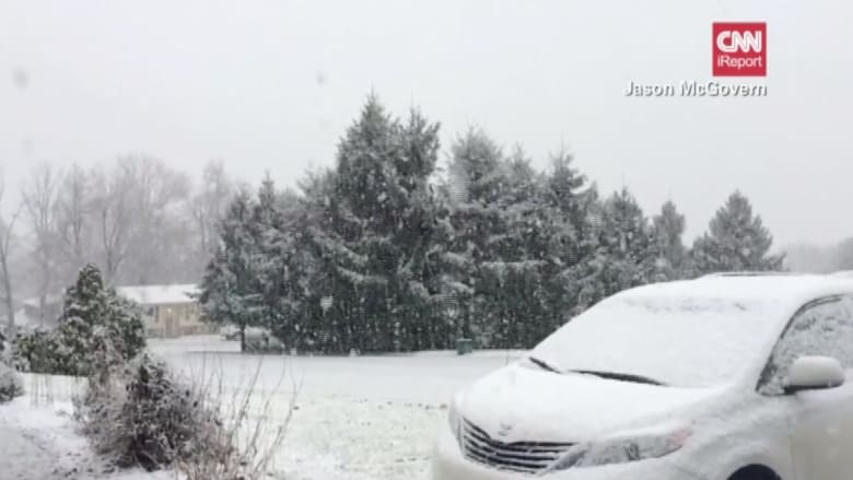 مشاهد مذهلة من بنسلفانيا.. كيف يبدو تساقط الثلج بالحركة البطيئة؟