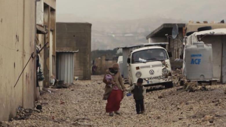 لاجئو سوريا وبرد الشتاء .. فراشهم الأرض ولحافهم السماء