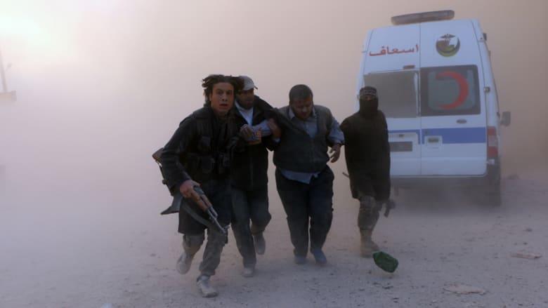 غليون يتهم أمريكا والأسد بالتنسيق وتحذير من نمو داعش.. وجبهة النصرة تهاجم بلدتين للشيعة