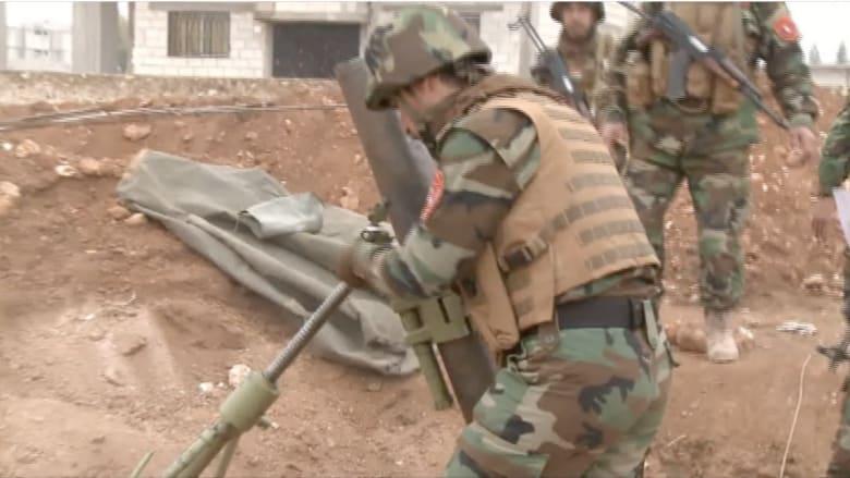 بعدسة CNN .. مشاهد من المعارك في كوباني