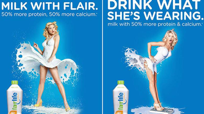 كوكاكولا تسحب إعلانا استخدم صورة امرأة شبه عارية للترويج لحليب