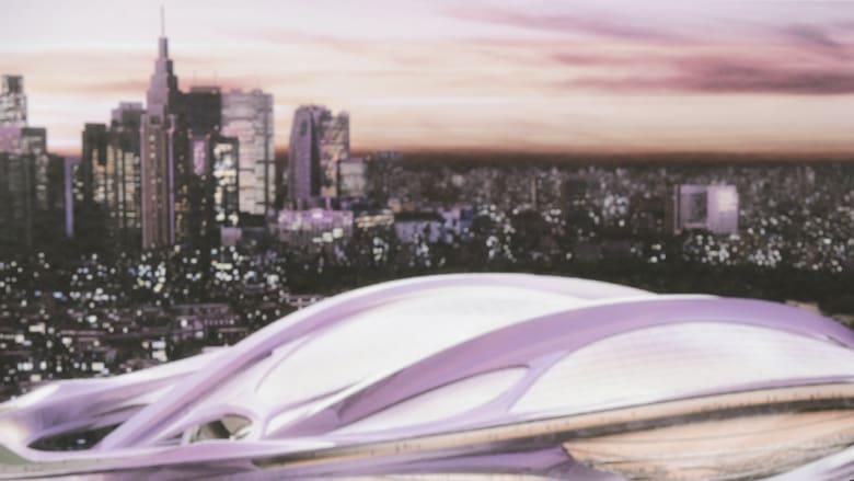 """بعد شكل ملعب الوكرة """"المثير"""" ضجة حول ملعب ياباني """"مثل السلحفاة"""" صممته زها حديد"""