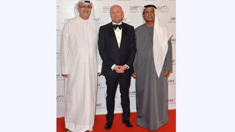 """بالصور.. لقطات من حفل """"IWC"""" لتوزيع الجوائز في مهرجان دبي السينمائي الدولي بحضور النجمة إيميلي بلنت"""