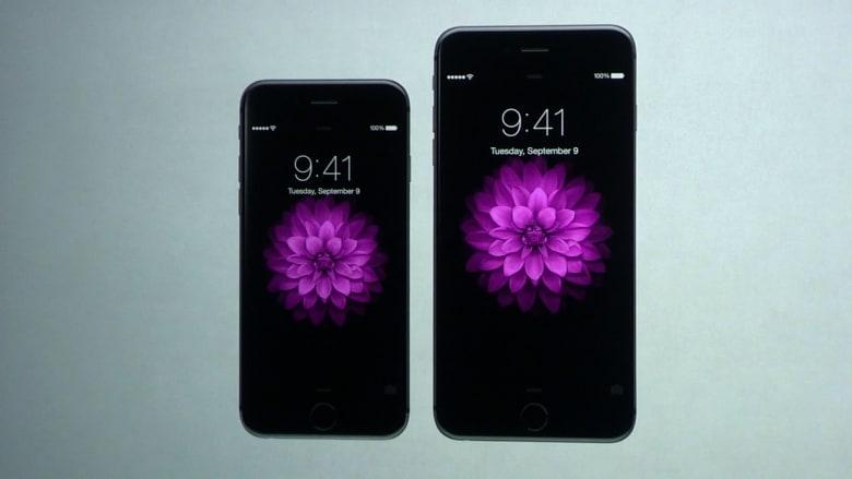 """بالفيديو.. """"أبل"""" تكشف عن هاتفين جديدين أي فون6 وأي فون6 بلس"""
