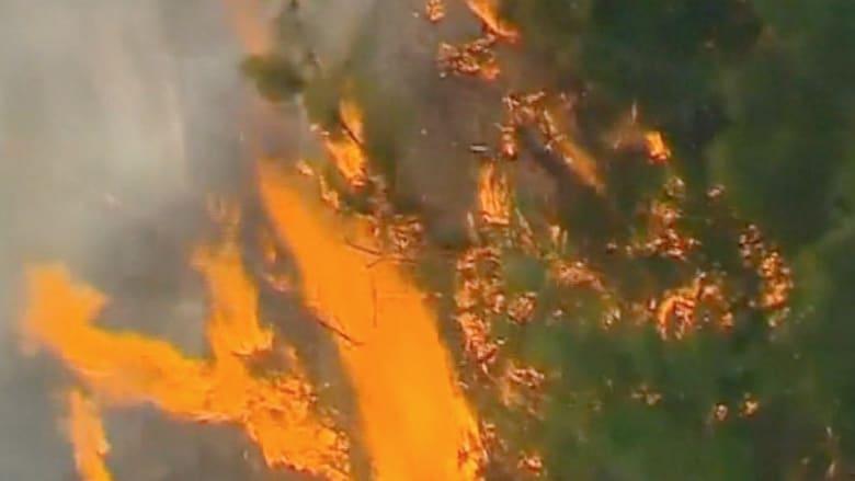 الحرارة تتسبب في حرائق هائلة باستراليا