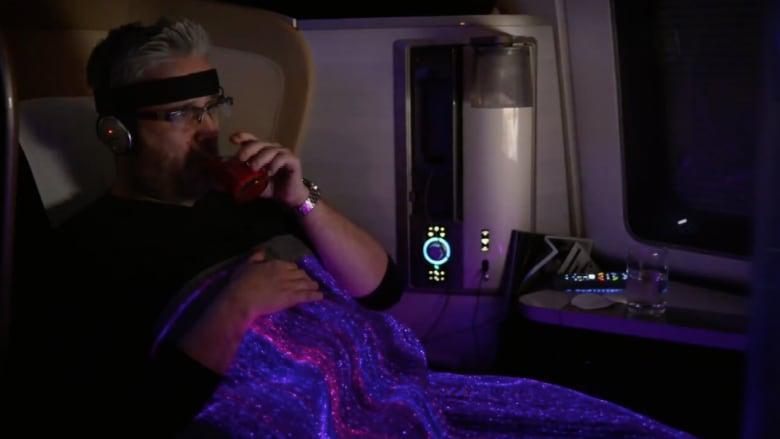 بطانية تغيّر لونها وفقا لمزاجك على متن الرحلات الجوية