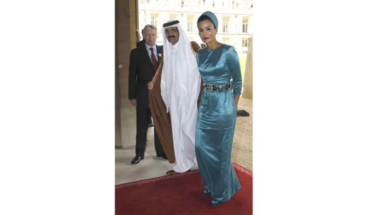 """بالصور.. موزة المسند والدة أمير قطر وزوجة الأمير """"الوالد"""""""