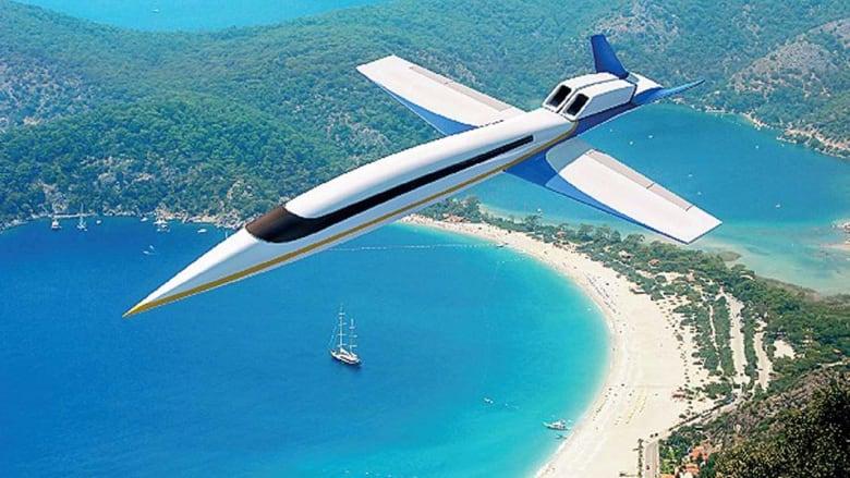 بالصور.. تعرف إلى طائرة الركاب الأسرع من الصوت