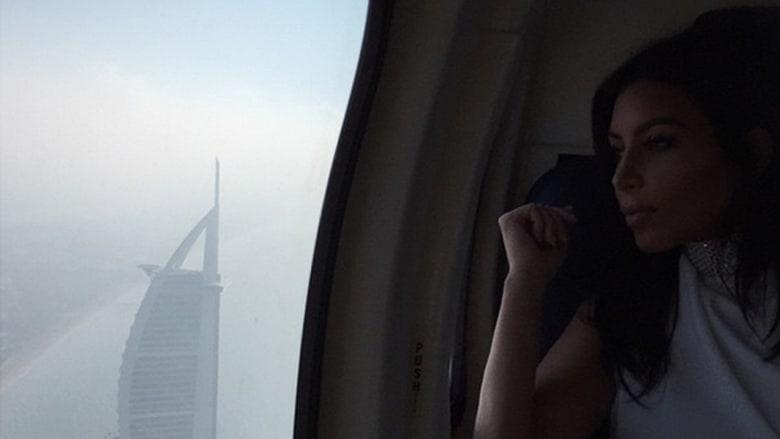 في جولة بمروحية
