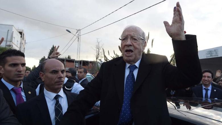 انتخابات تونس.. باجي قائد السبسي رئيسا للبلاد بـ55.6% من الأصوات