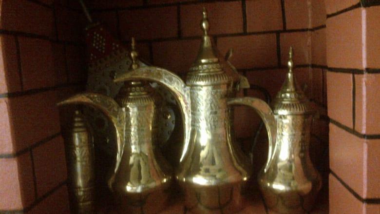 صورة لاناء تقديم القهوة العربية - أرسلها عبدالدائم عثمان
