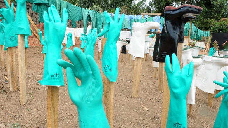 حمى إيبولا تفتك بـ 112 مصاباً من أصل 163 في غرب أفريقيا