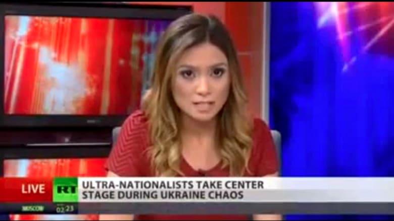 اعتزال مراسلة شبكة روسية بسبب بوتين