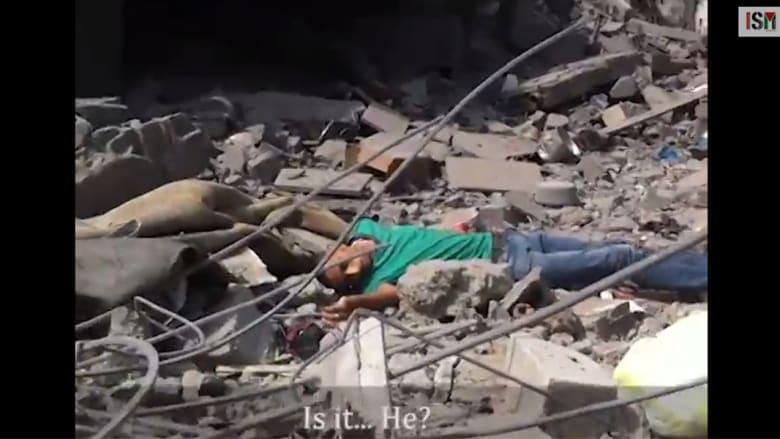 حركة التضامن الدولي تعرض فيديو لاستهداف فلسطيني جريح في حي الشجاعية بغزة