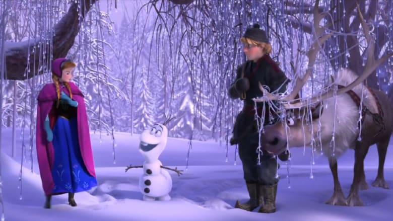 """""""Frozen"""".. أكثر أفلام الرسوم المتحركة تحقيقاً للإيرادات"""