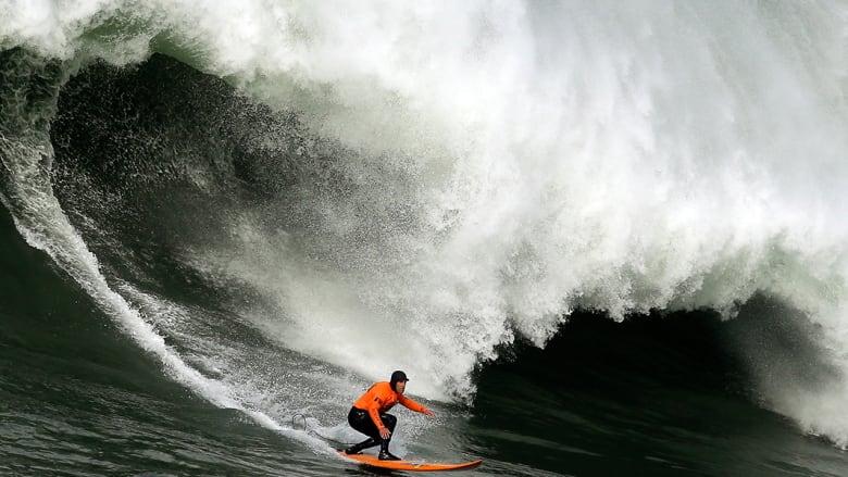 أحدث قفزة عملاقة فوق الأمواج