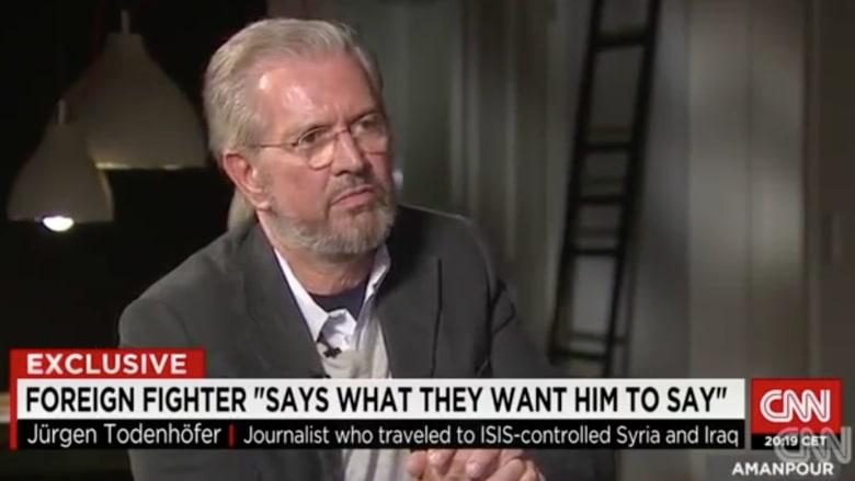 حصري: كاتب ألماني يروي لـCNN  مشاهداته بعد زيارة نادرة لداعش