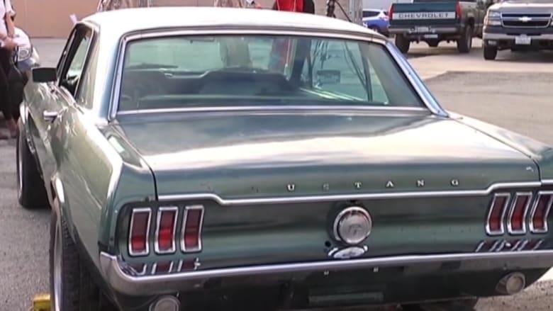 العثور على سيارة بعد 28 عاما من سرقتها