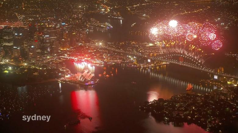 أستراليا تدخل 2015 بعروض مبهرة في سيدني