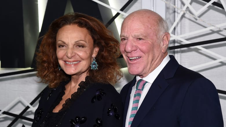 باري ديلر وزوجته دايان فون فورستنبيرغ
