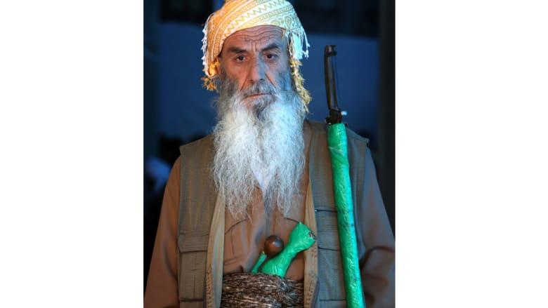 شاهد احتفالات الأكراد الصوفيين بعيد المولد النبوي