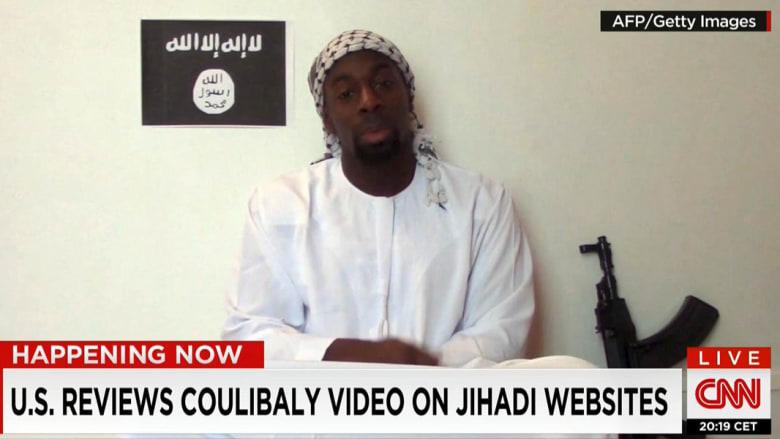 الاستخبارات الأمريكية تدرس مقطع الفيديو الذي أعلن فيه أحمدي كوليبالي الولاء لداعش