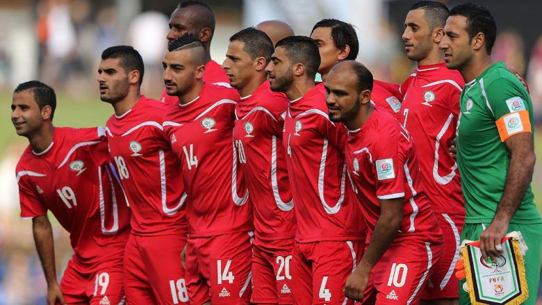 المنتخب الفلسطيني يخوض أول مباراة له في تاريخ نهائيات أمم آسيا