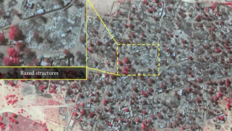 بعد هجمات بوكو حرام.. مشهد الدمار في نيجيريا من الفضاء